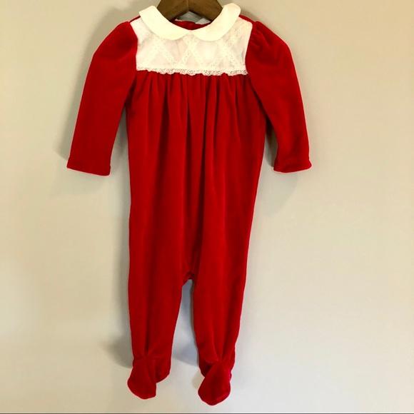 ef446de0a Ralph Lauren One Pieces | Salenwt Christmas Pajamas Velvet | Poshmark